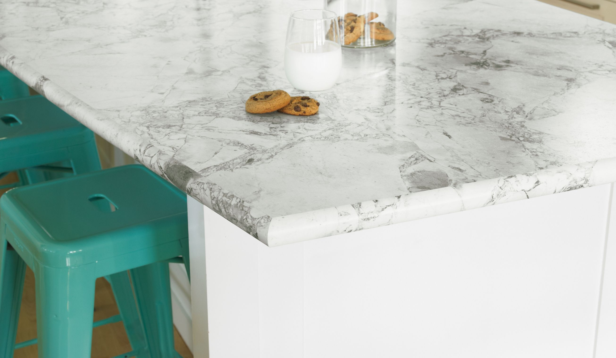 Solid Surface Countertop Options Idealedge 3421 Bianca Luna 180fx Bullnose Kitchen