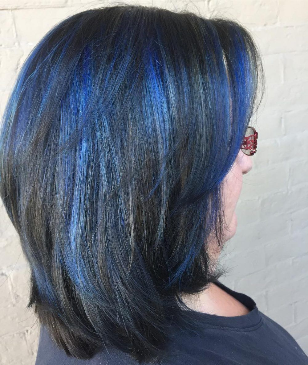 19 Most Amazing Blue Black Hair Color Looks Of 2020 Hair Color For Black Hair Hair Inspiration Color Blue Black Hair