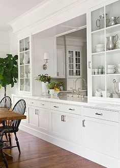 Love The Serving Area Between Kitchen And Dining With Lots Of Storage