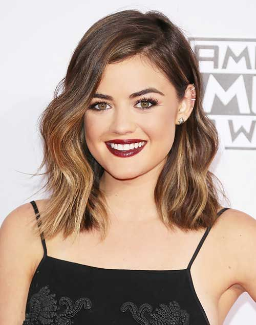 Cool 20 Short Shoulder Length Haircuts Frisuren Mittlerer