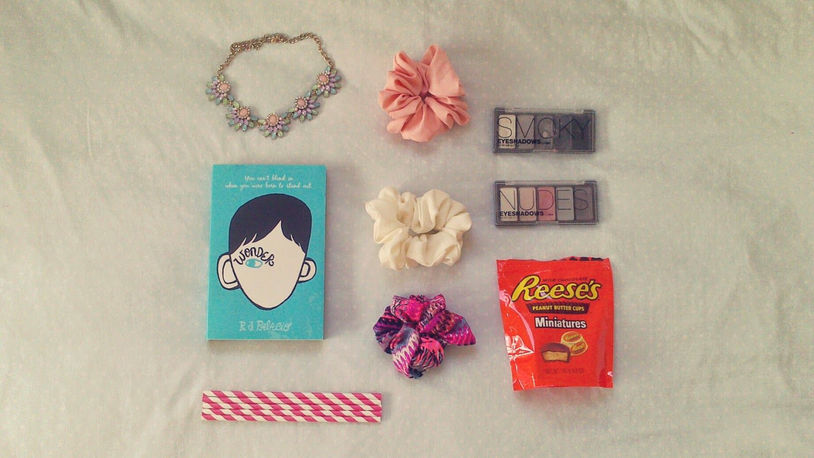 July Favourites: Hair scrunchies, statement necklaces and American chocolates all in this months favourites!