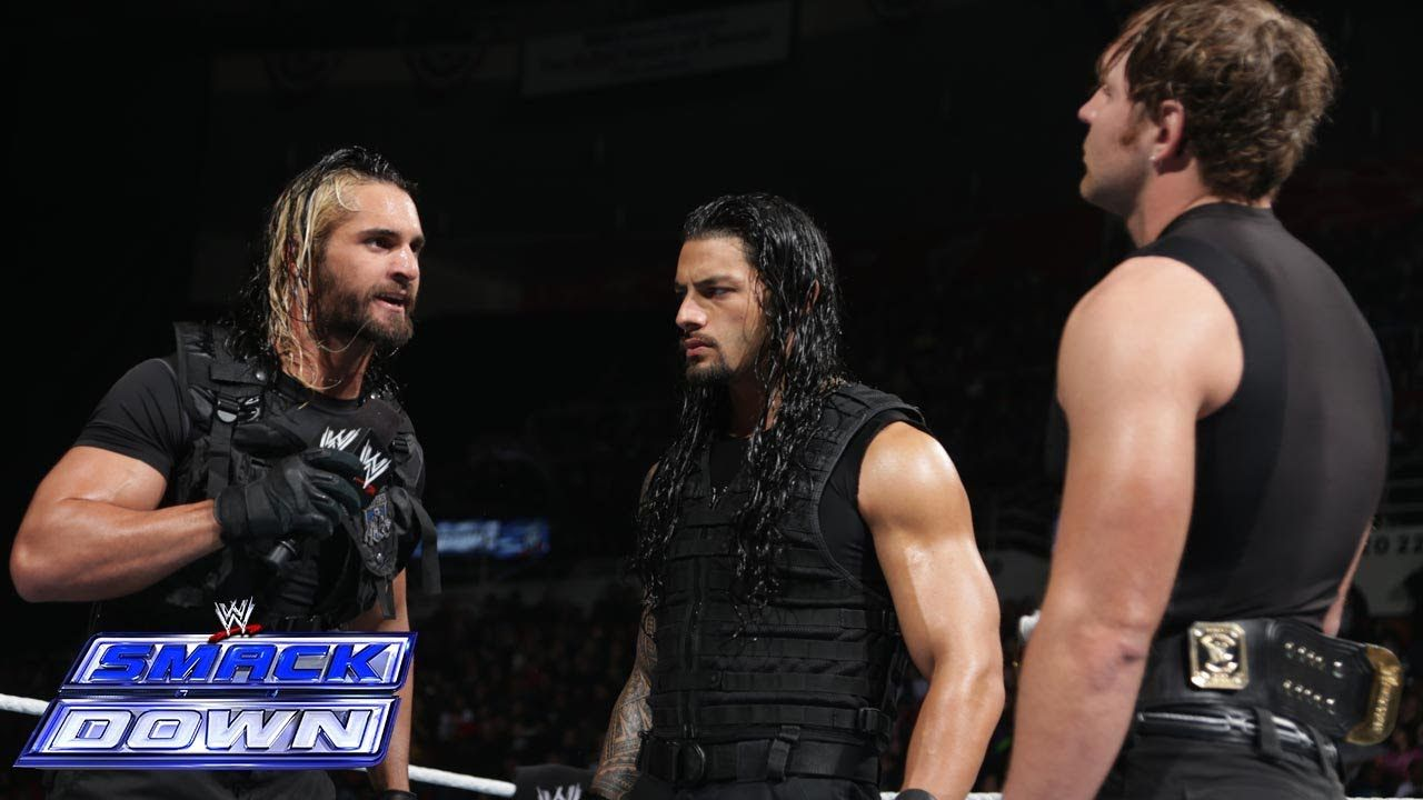 The Shield Summit: SmackDown, March 7, 2014 | WWE ...