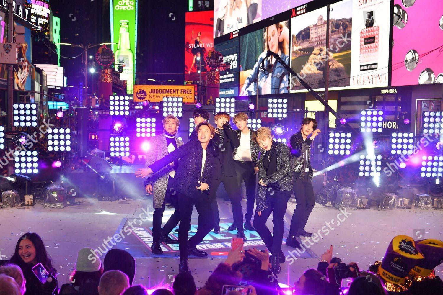 200101 Times Square New Year's Eve 2020 Celebration in
