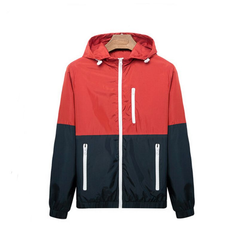 2016 spring new men's jacket sportswear Men Fashion Thin ...