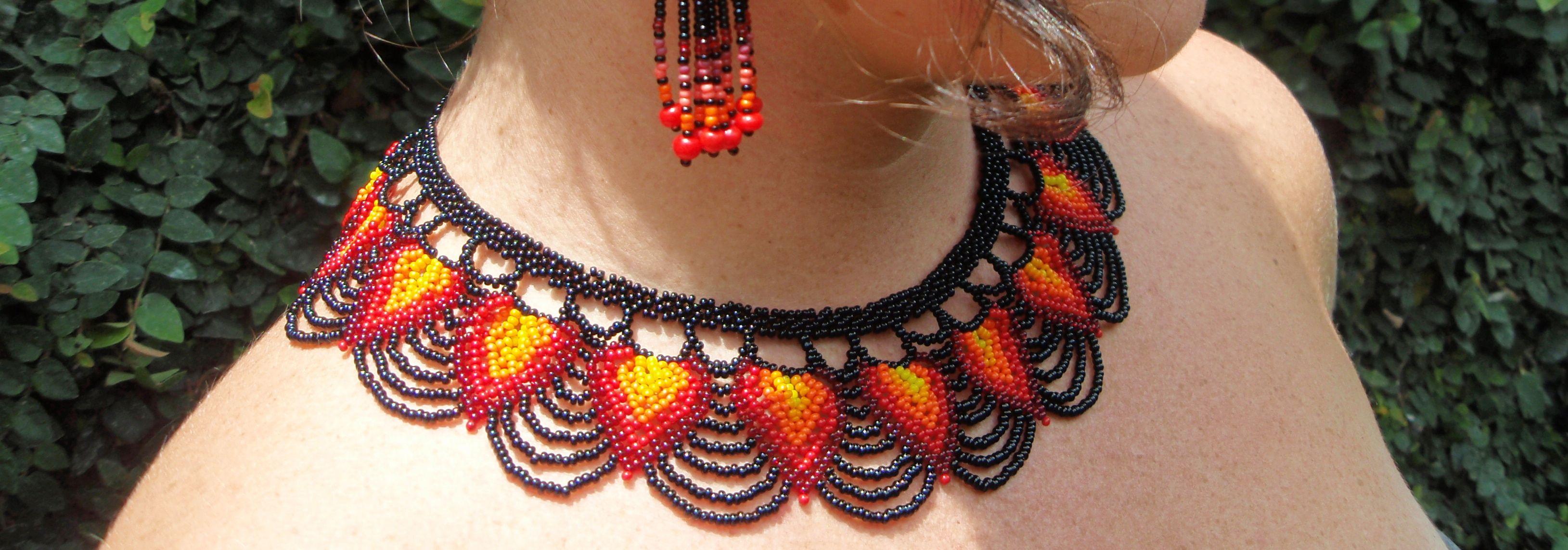 Huichol collar