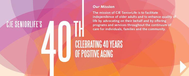 Cje senior life the mission of cje seniorlife is to