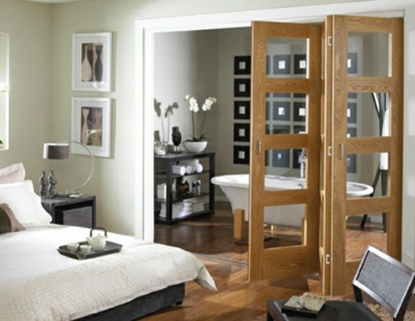 Interior glass doors – let's leave the interiors …