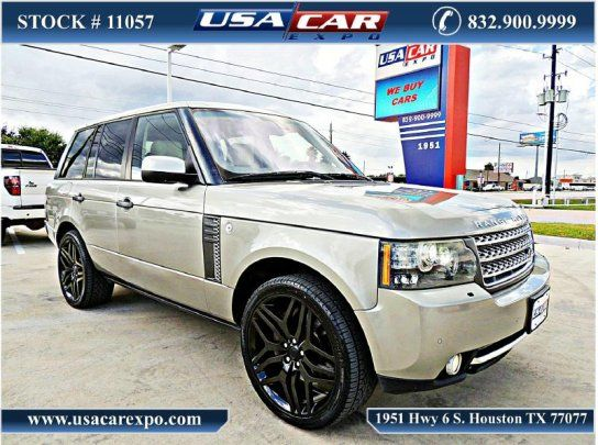 Cars For Sale Used 2010 Land Rover Range Rover In Autobiography Houston Tx 77077 Details Sport Utility Range Rover Supercharged Car Expo Range Rover Hse