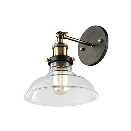 Tydg 1 Light Vintage Wall Sconces Edison Lamp Glass Material Retro Indoor Wall Light Vintage Wall Sconces Wall Lights Indoor Wall Lights