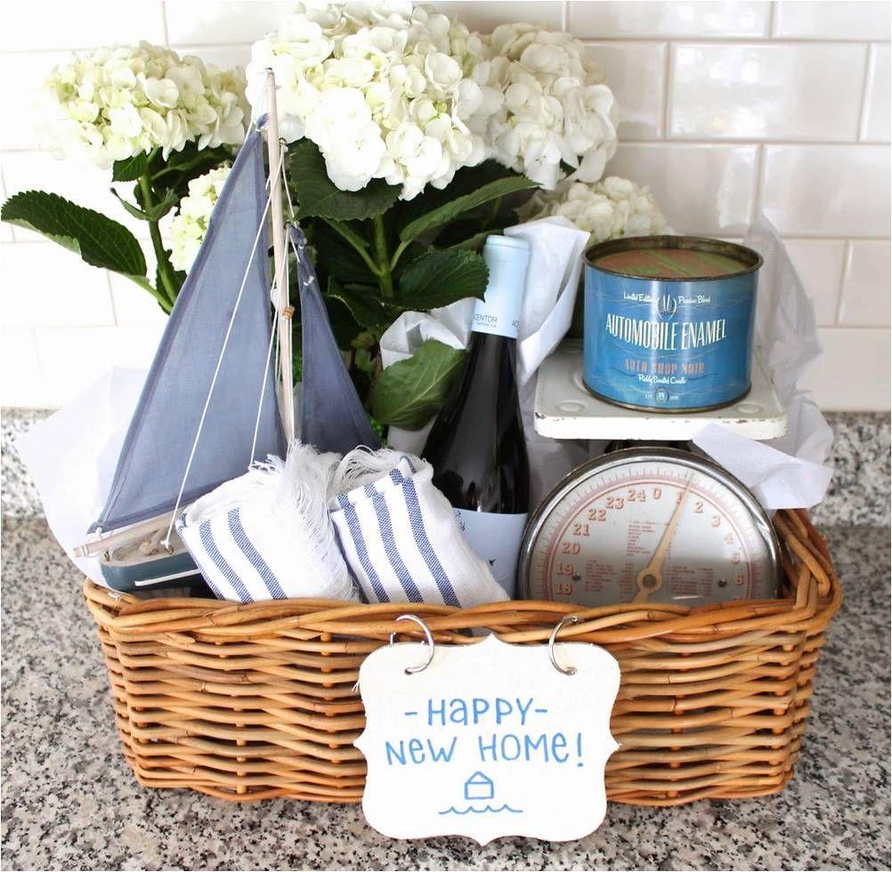 housewarming gift basket for guys