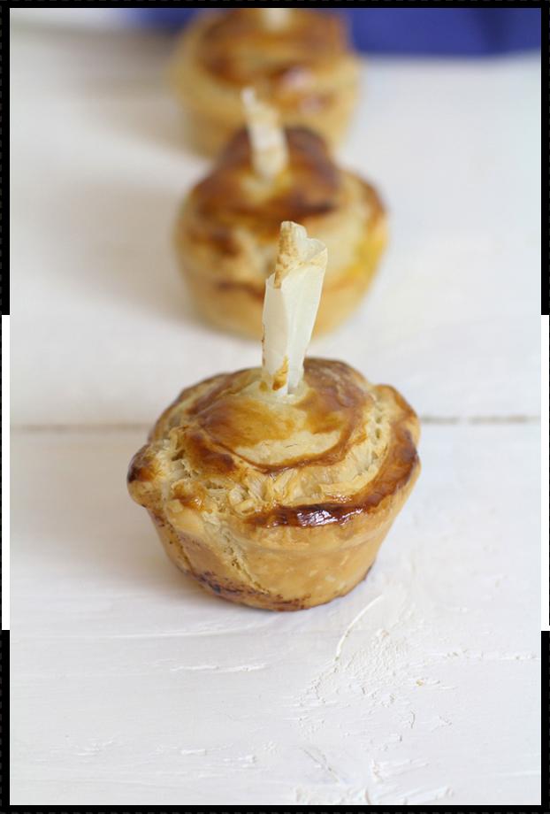 Mini-pies Poivrons & Ricotta - Besly -
