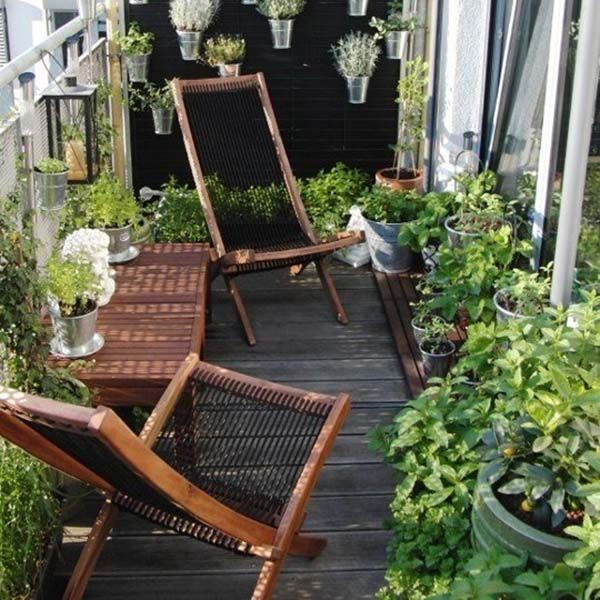 55 Super cool und luftig kleine Balkon Design-Ideen #smallbalconyfurniture