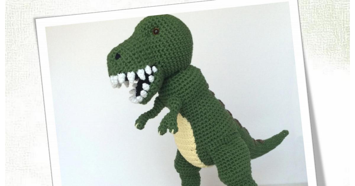 patron t-rex - www.puntosdefantasia.es - compressed.pdf | cute ...