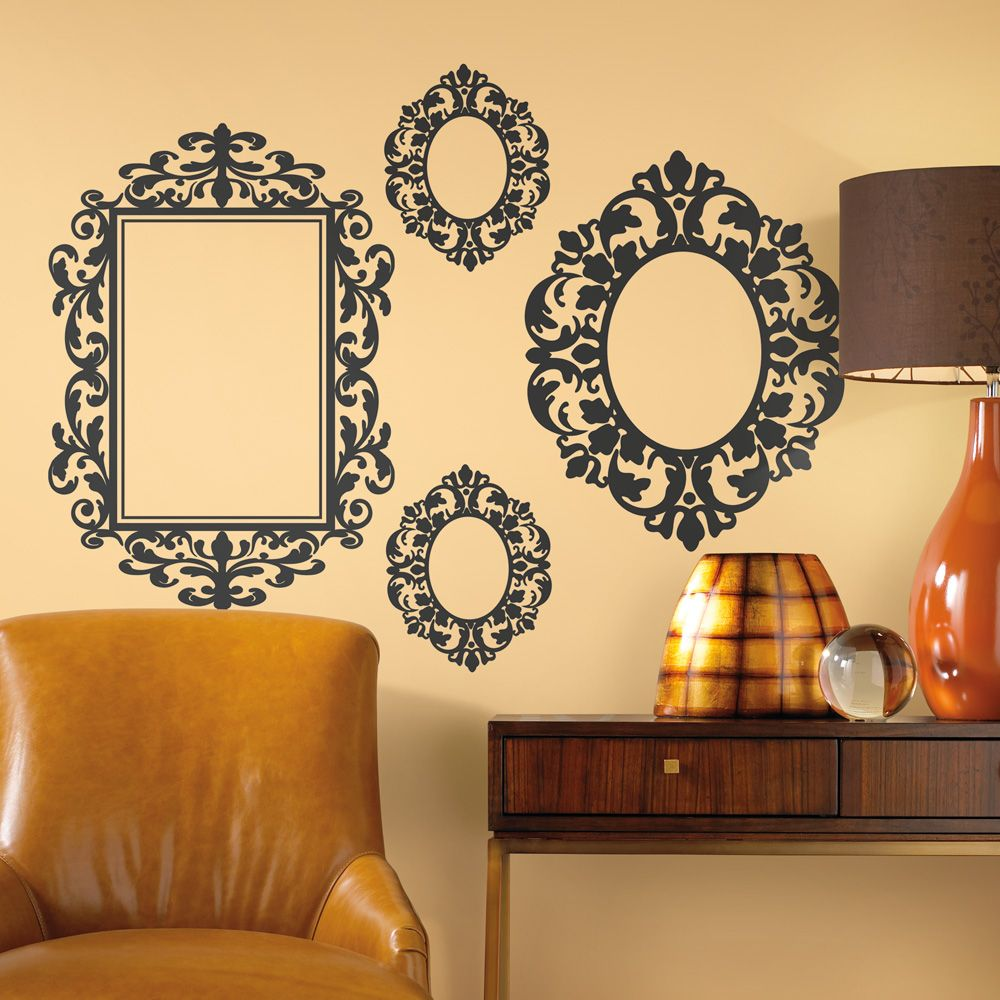 RoomMates Frames Wall Decals from LittleBlackBag.com :: Black ...