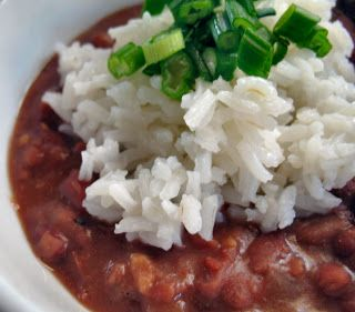 We Like to Cook!: Red Beans & Rice - It must be Monday!