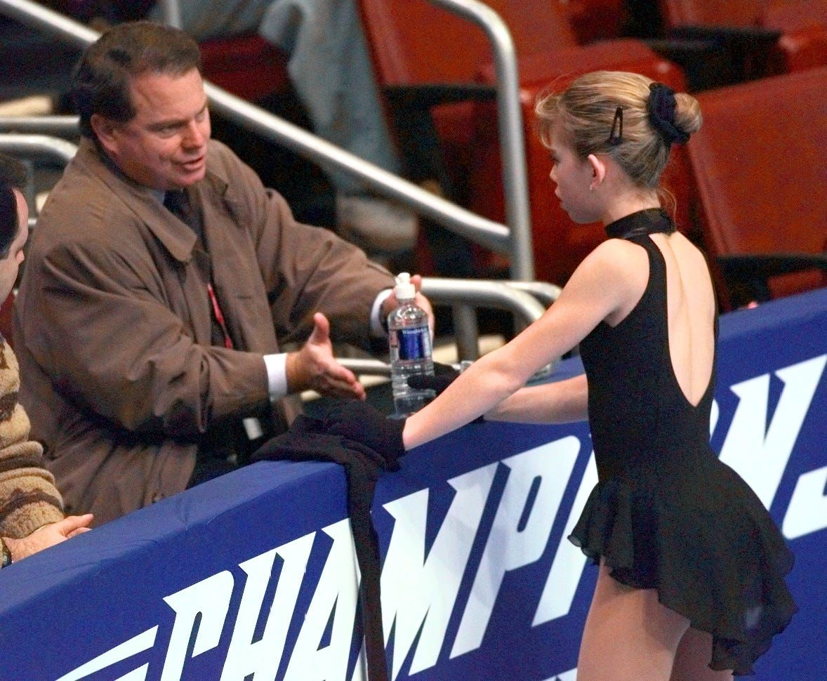U.S. figure skating coach Richard Callaghan has lifetime