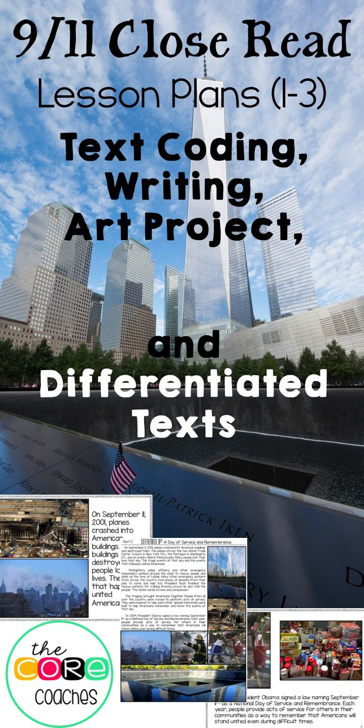 September 11th 9 11 Reading Writing And Art With Printable Text 1 3 Social Studies Middle School Social Studies Lesson Teaching Elementary [ 1440 x 720 Pixel ]