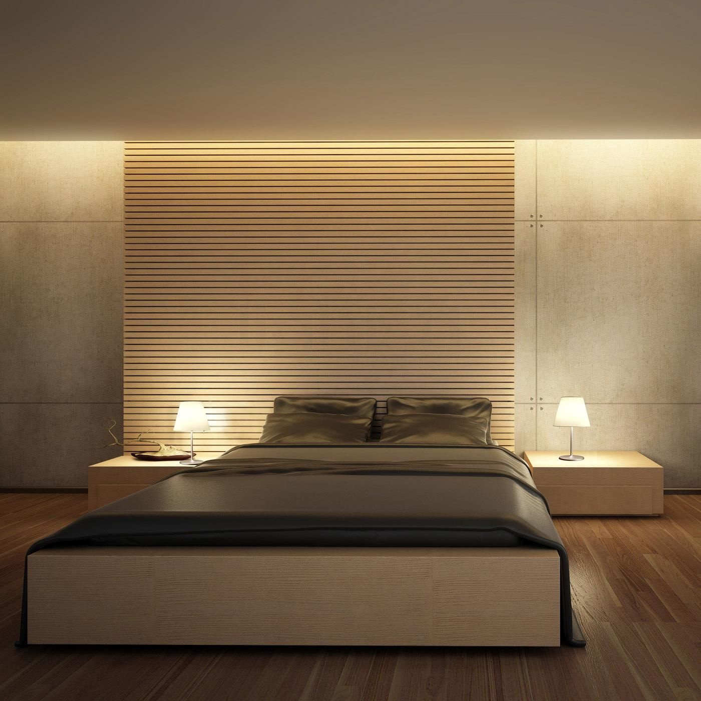 Artemide Melampo Notte Luxus Interieur Luxusschlafzimmer