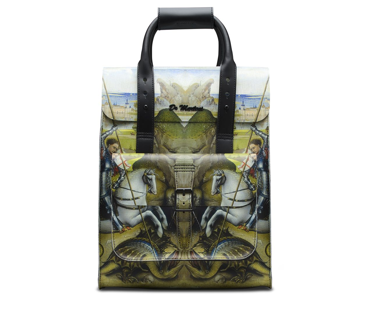 GEORGE AND THE DRAGON LEATHER BACKPACK  14295bb7eaf