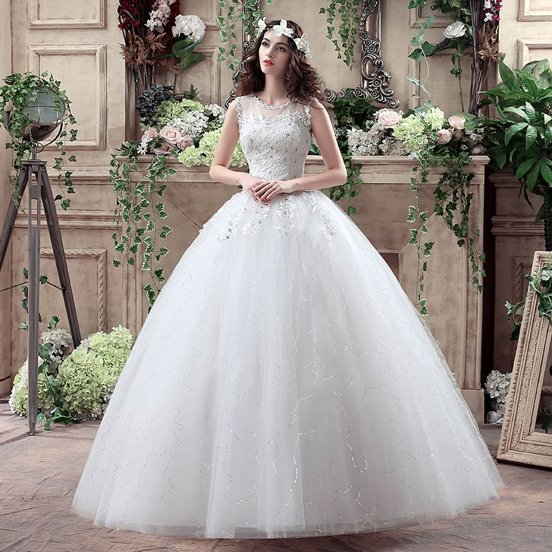 Click To Buy Zj6012 Hot Sale Wedding Dresses New Fashion Elegant