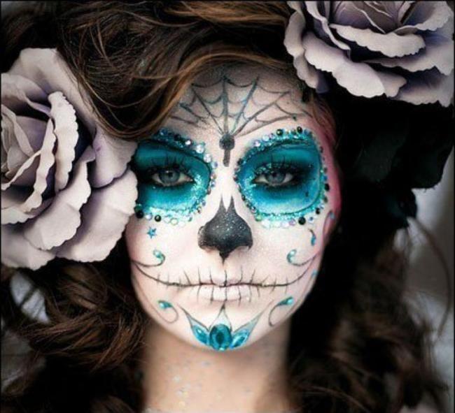 5 Cool Halloween Makeup Ideas! - ulzzangstyle | Makeup | Pinterest ...