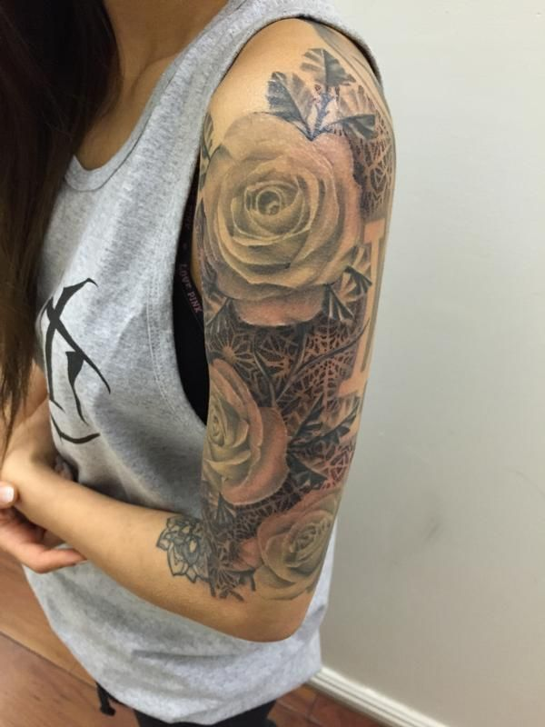 e2d865896 Edward Lee - Rose + Mandala + Geometric sleeve | Express Yourself ...