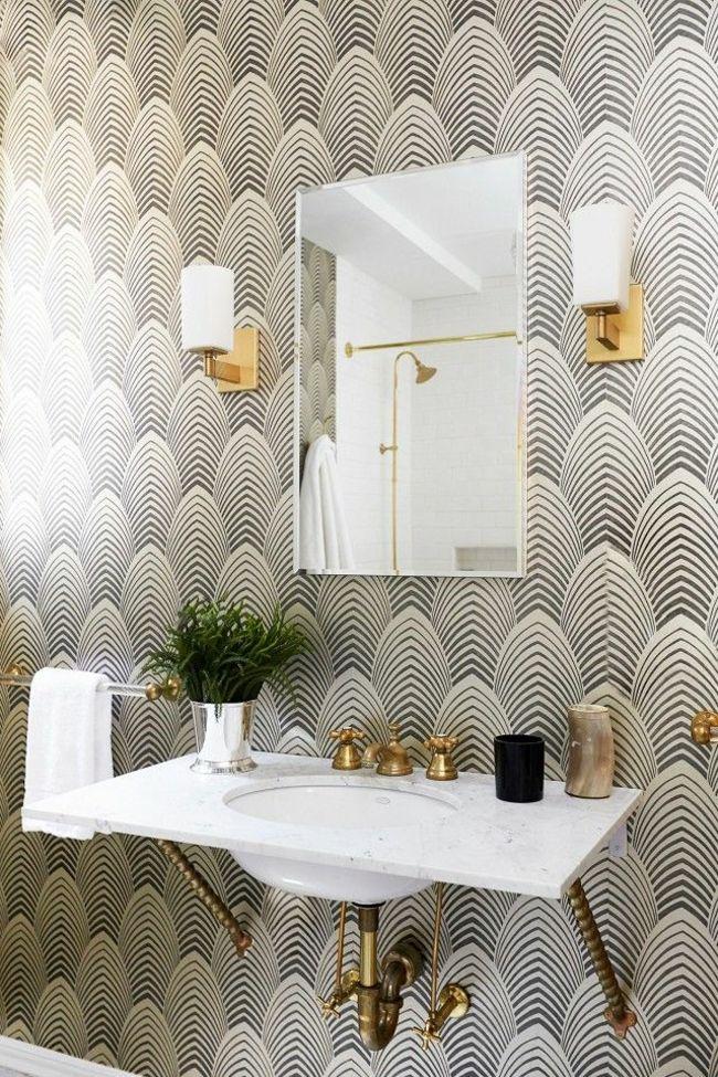 Kleines Bad gestalten und kreativ dekorieren - inspirierende ...