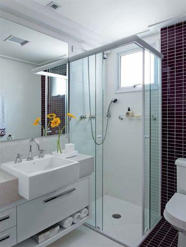 banheiro apartamento - Pesquisa Google