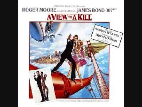 A View To A Kill Movie Score John Barry With Images James