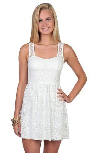 Elegant Dresses with Lace Back