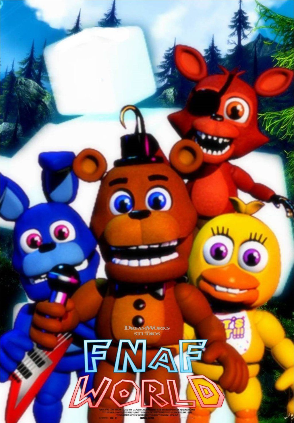 Scott Cawthon Thank You Poster - Year of Clean Water