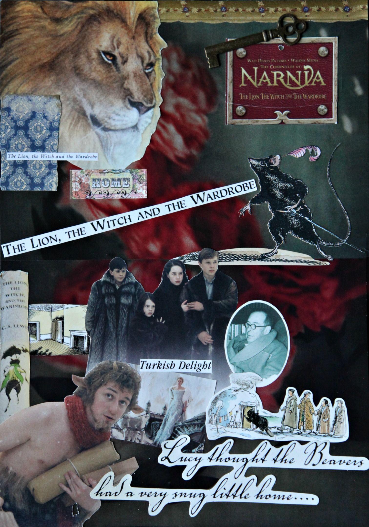 Narnian Collage Narnia Chronicles Of Narnia Aslan