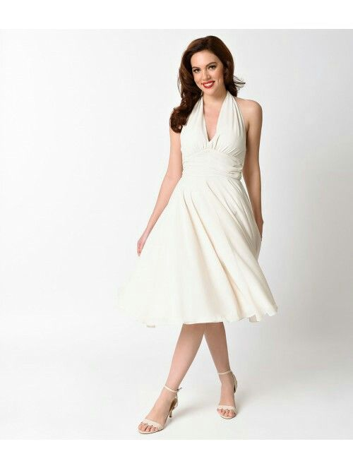 It S The Marilyn Monroe Style Dress As Seen In Movie Seven Year Itch