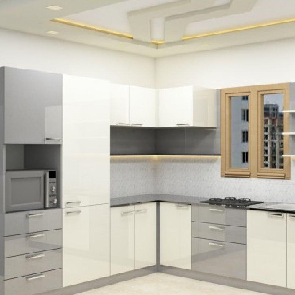 9 L Shaped Modular kitchen Designs ideas in 9   l shaped ...