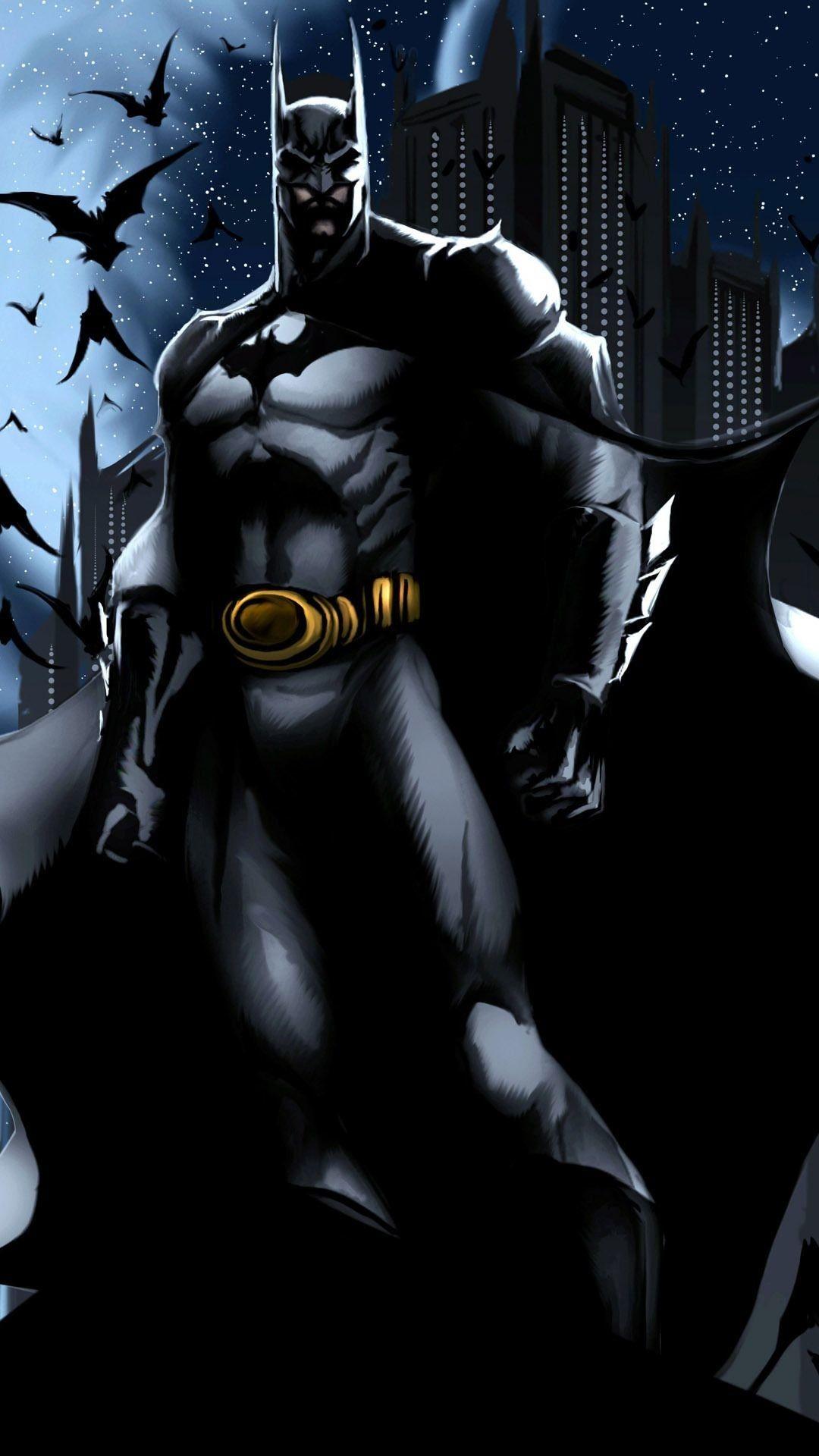 75 Batman Cartoon Wallpapers On Wallpaperplay Pertaining To Elegant Batman Cartoon Phone Wallpaper In 2020 Batman Cartoon Batman Pictures Batman Wallpaper