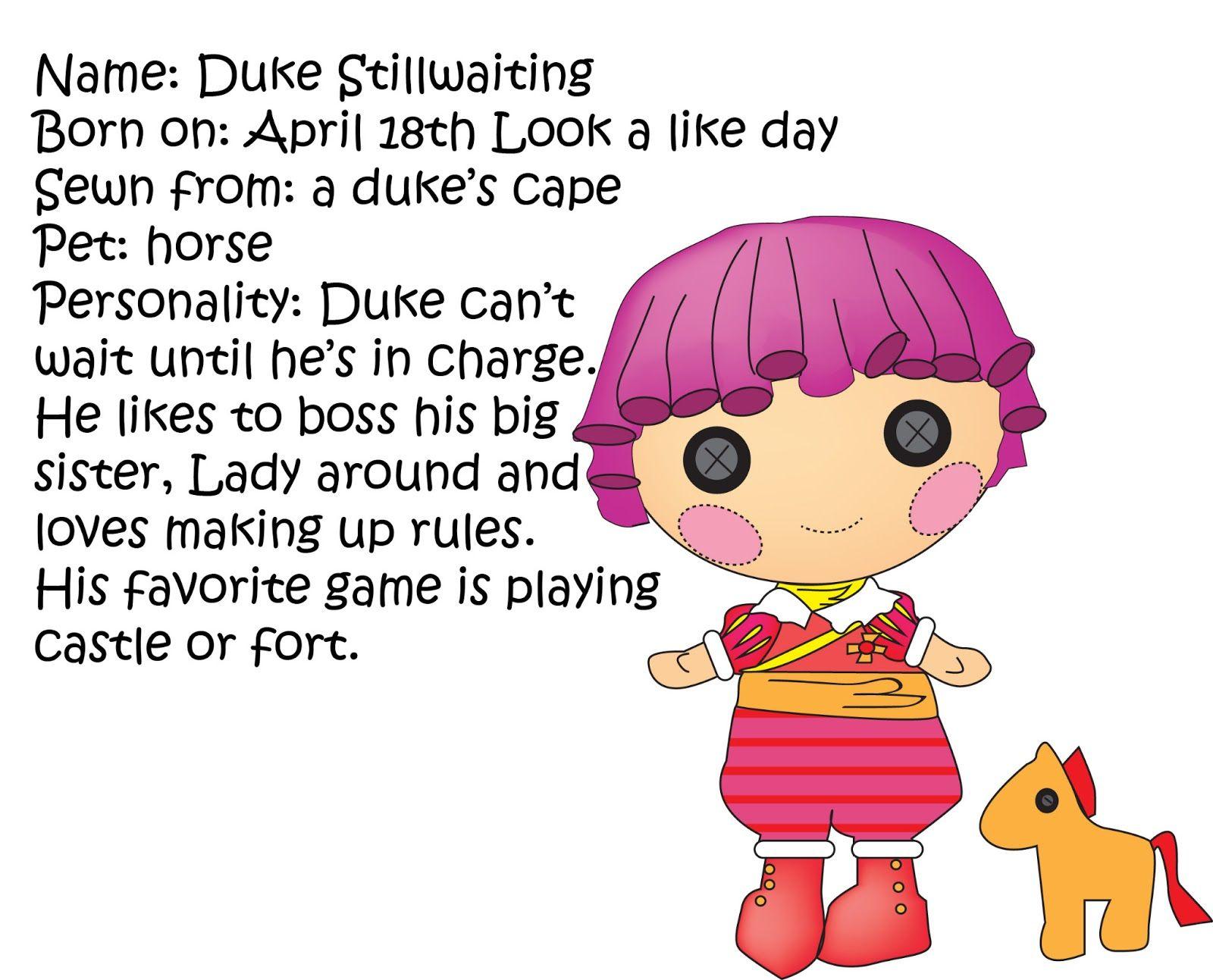 Miss Missy Paper Dolls: lalaloopsy | Doll: Lalaloopsy | Pinterest ...