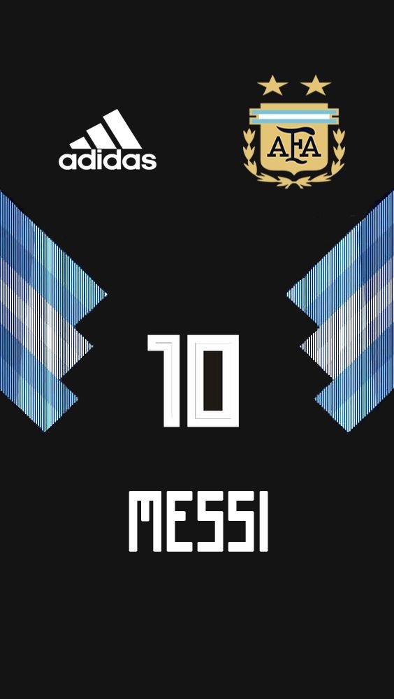 Argentina Jersey 2018 Maurogk Messi Messi Argentina Fondo De Pantalla Futbol