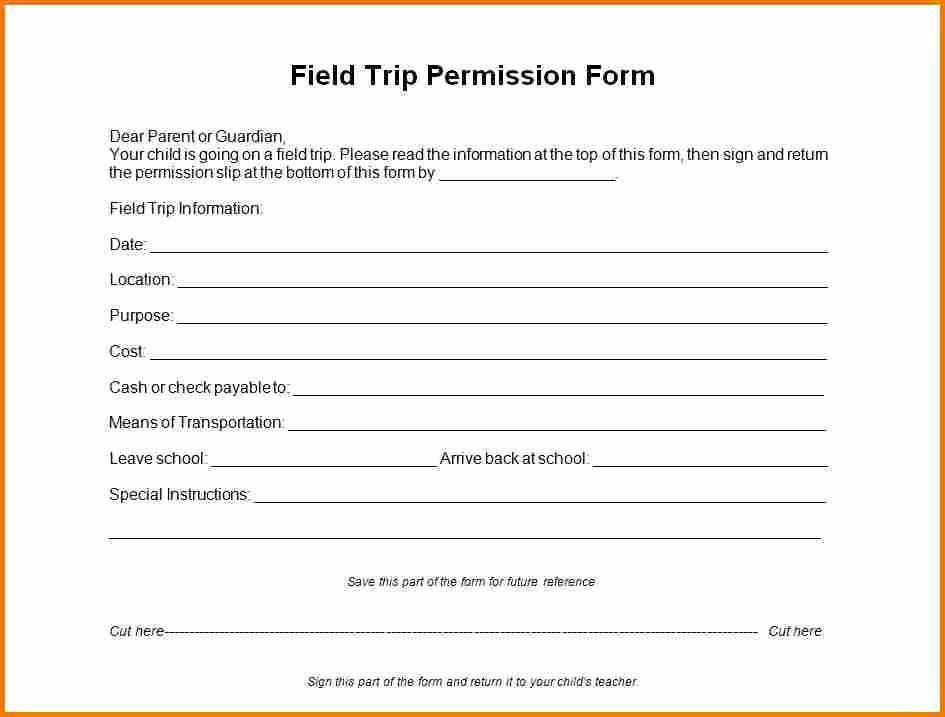 Field Trip Permission Slip Form Beautiful Download Field Trip Permission Slip Template Field Trip Permission Slip Field Trip Permission Slip Template