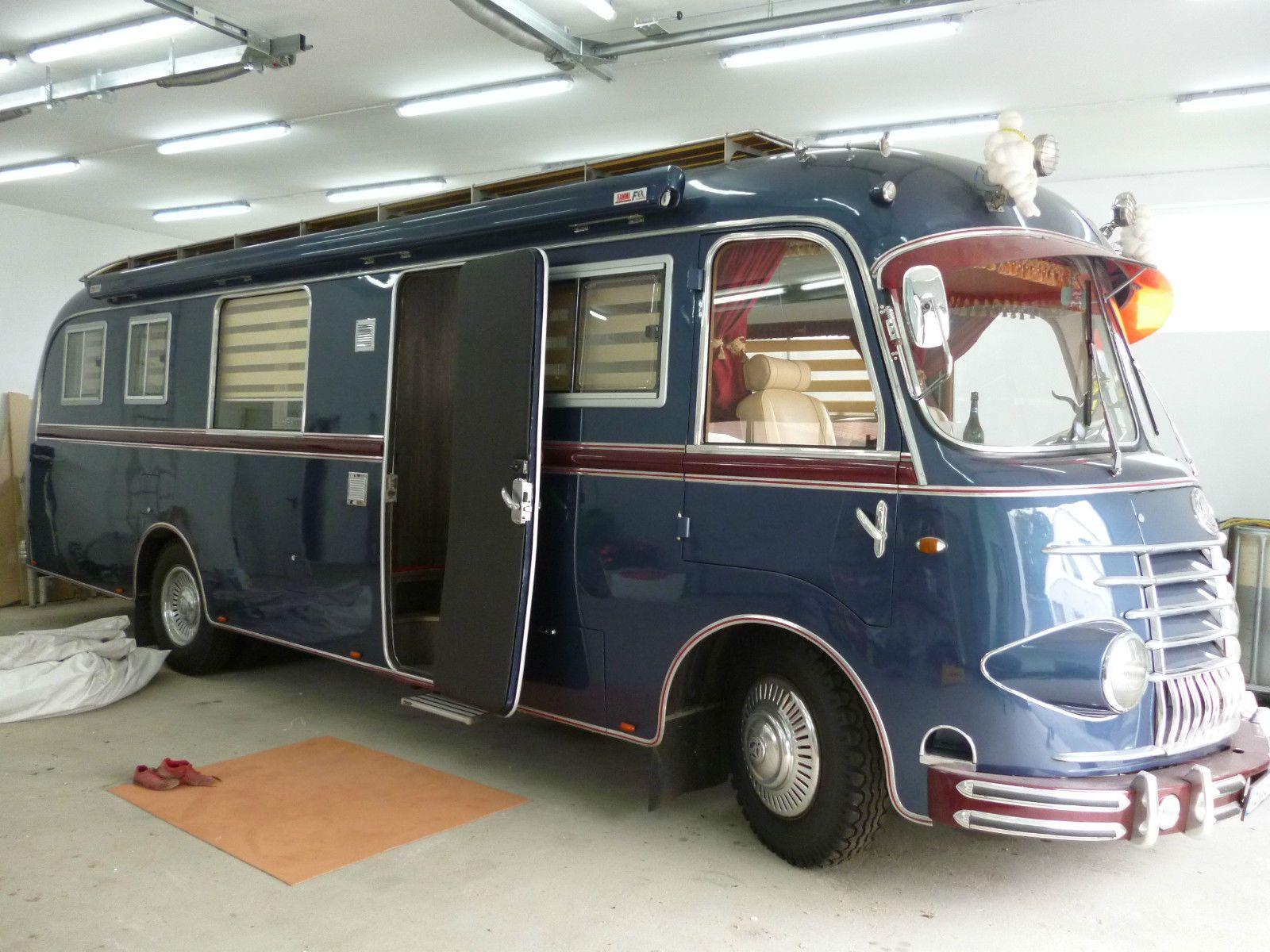 wohnmobil mercedes op311 oldtimer bj 1955 uschi obermaier. Black Bedroom Furniture Sets. Home Design Ideas