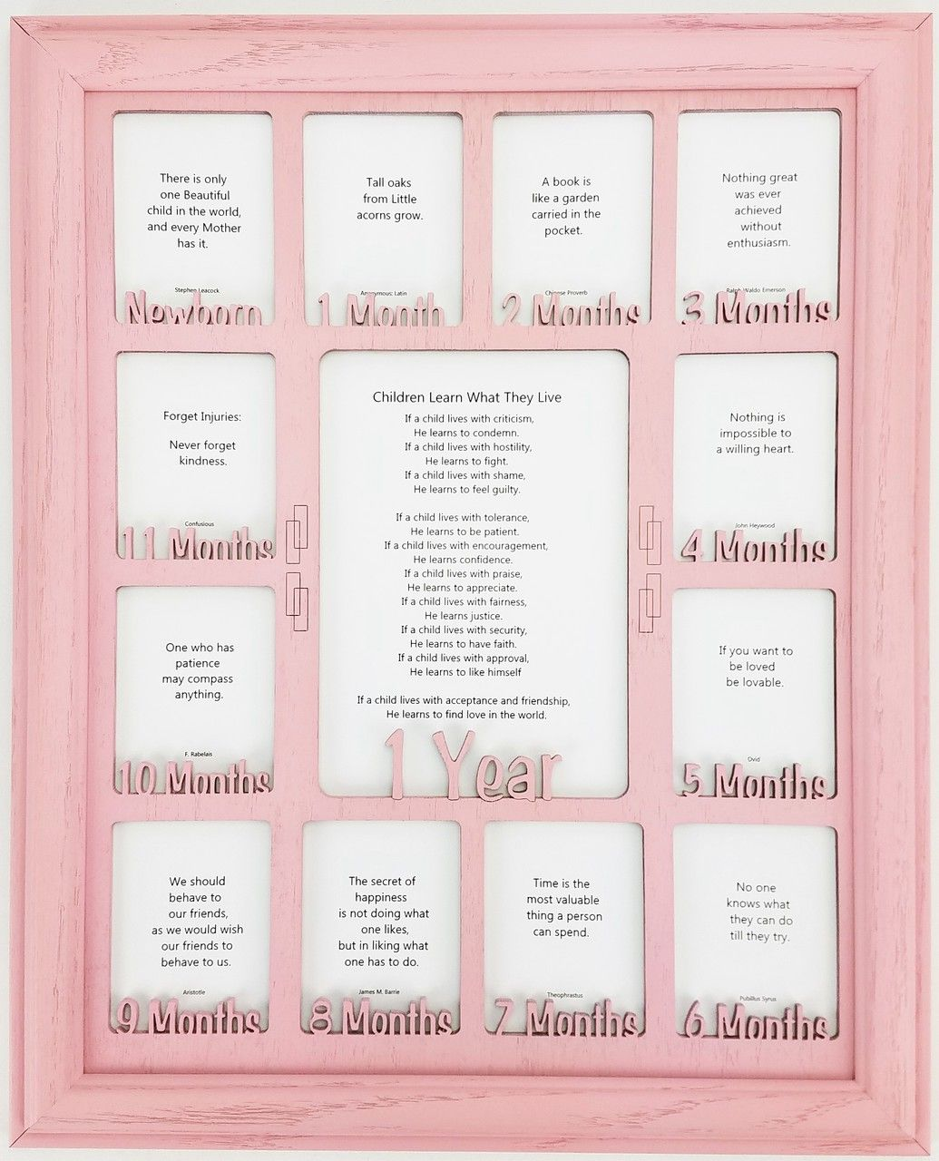 Baby First Year Picture Frame - Personalized Picture Frame with any ...