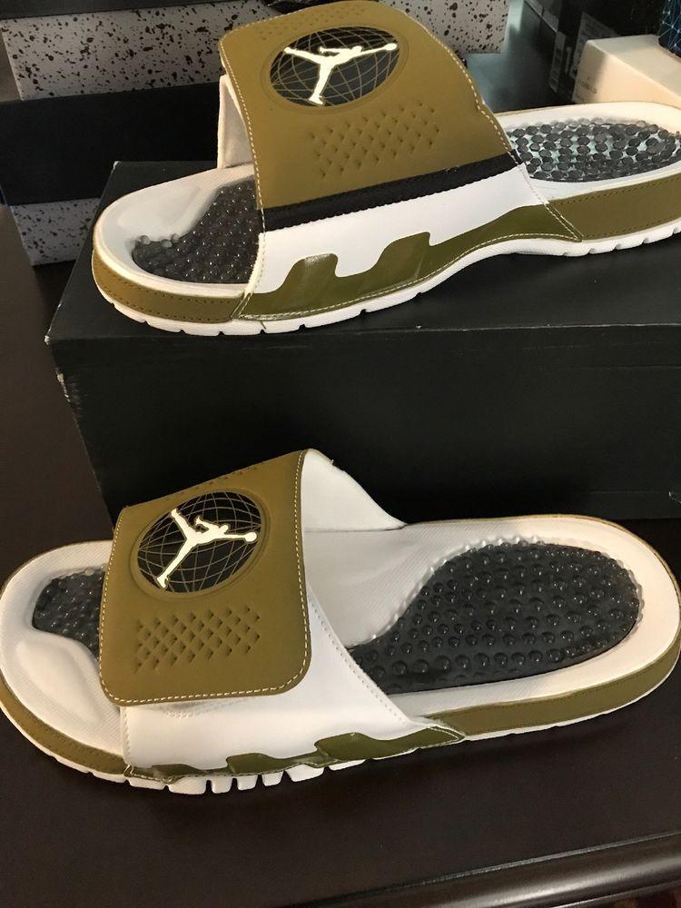 35fb9f1cbe5329 Nike Air Jordan Hydro IX Retro Slides Men s Size 12 NEW  fashion  clothing   shoes  accessories  mensshoes  sandals (ebay link)