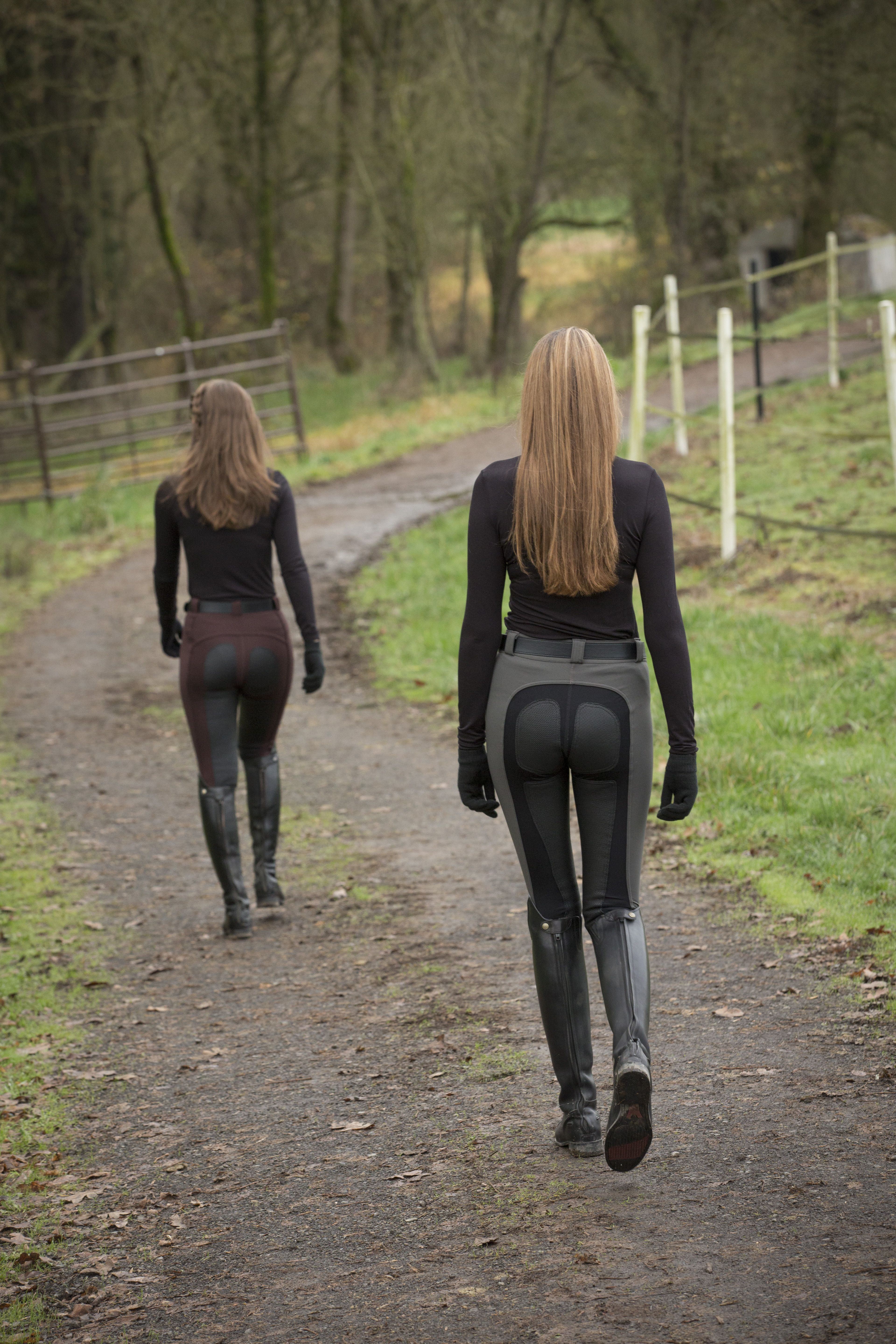 FITS PerforMAX breeches in great fall colors: Rasin