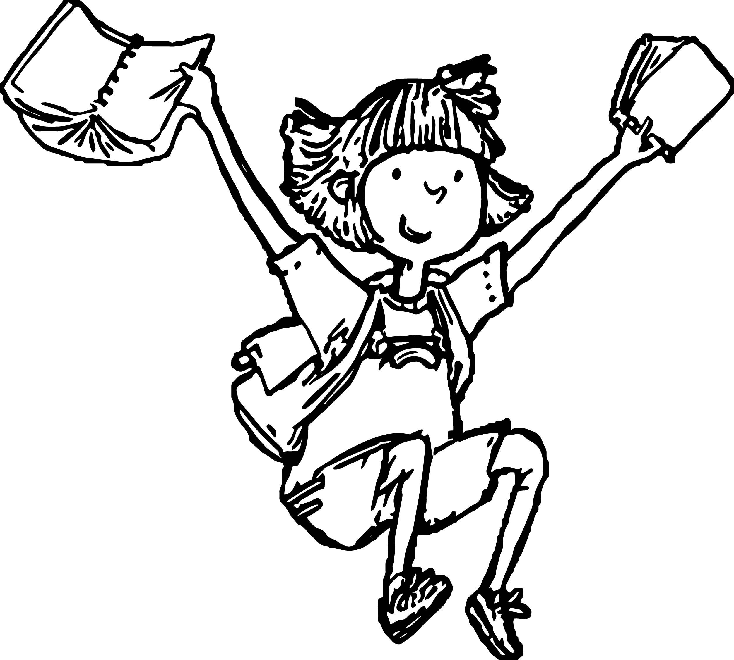 Awesome Amelia Bedelia Finish School Coloring Page School Coloring Pages Santa Coloring Pages Dog Coloring Page