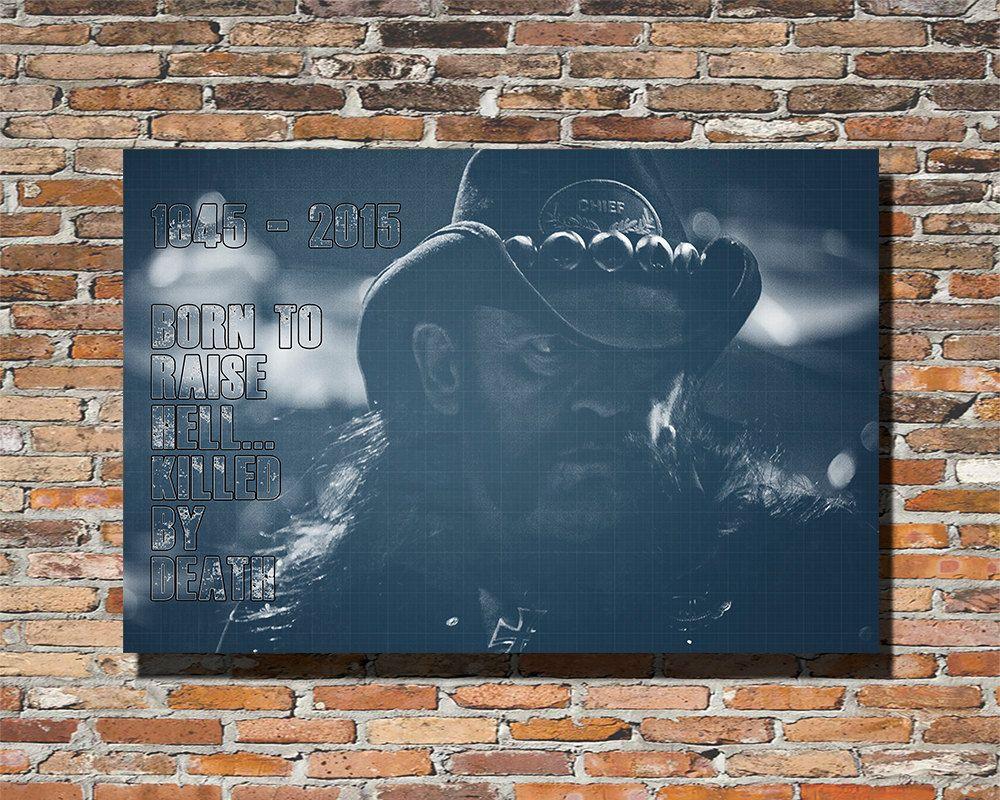 LEMMY 18x12 Poster Lemmy Lemmy Poster Lemmy Print Lemmy Wall Art ...