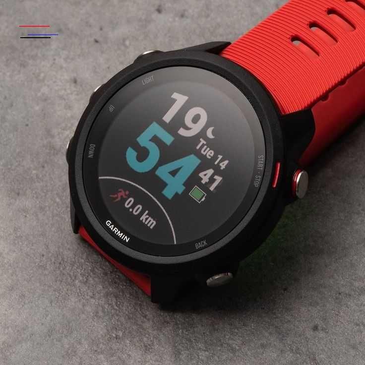 Forerunner 245 dengan daya tahan baterai hingga 7 hari dalam mode smartwatch; 6 jam dalam mode GPS d...