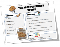 recette en anglais cuisine