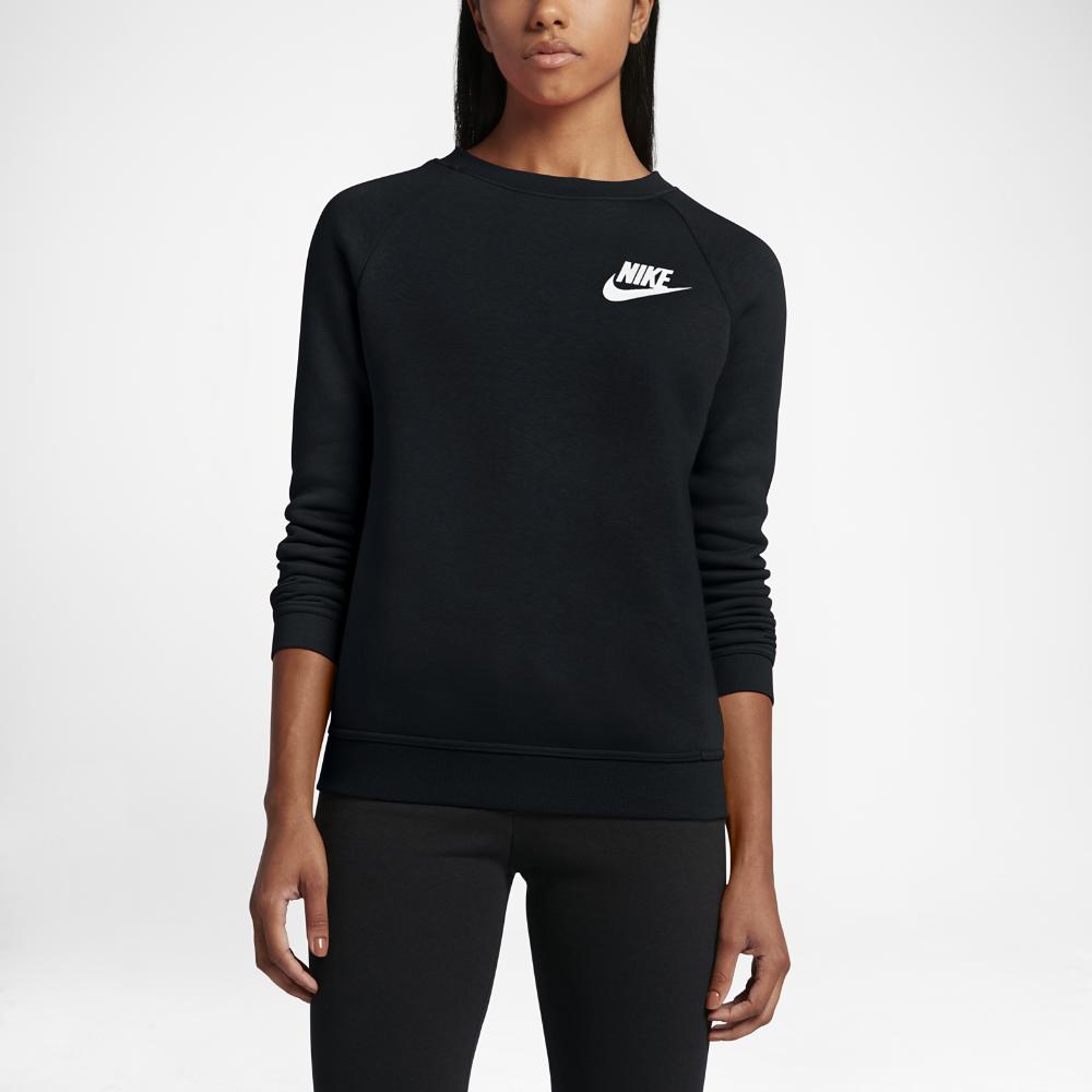 Nike Sportswear Rally Women's Crew Size Medium (Black) - Clearance Sale