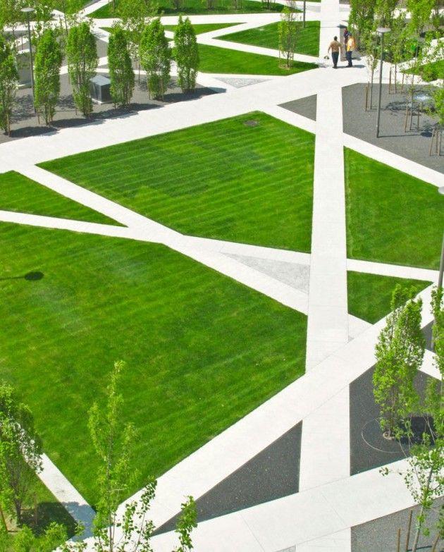 Scholars Green Park By Gh3 Contemporist Landscape Architecture Jobs Landscape Design Urban Landscape Design