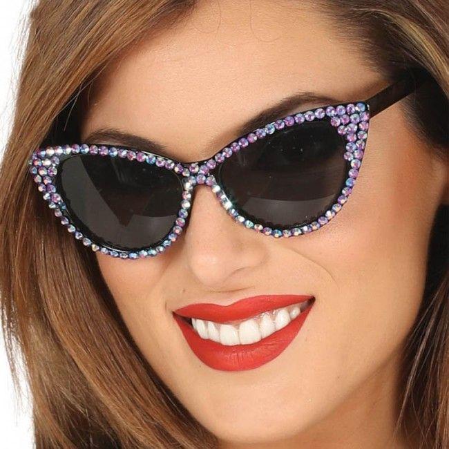 Achetez Lunettes Disco avec brillants #lunettesdéguisements #accessoiresdéguisements #accessoiresphotocall