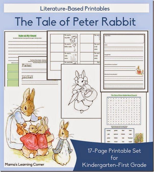 FREE Beatrix Potter 9-Week Unit Study - Homeschool Giveaways